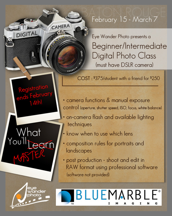 Basic digital photography classes in Baton Rouge Feb 15 ...