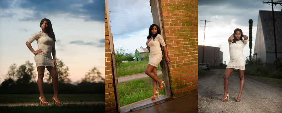 L07 High School senior photographer in Baton Rouge | Brianica class of 2012 album