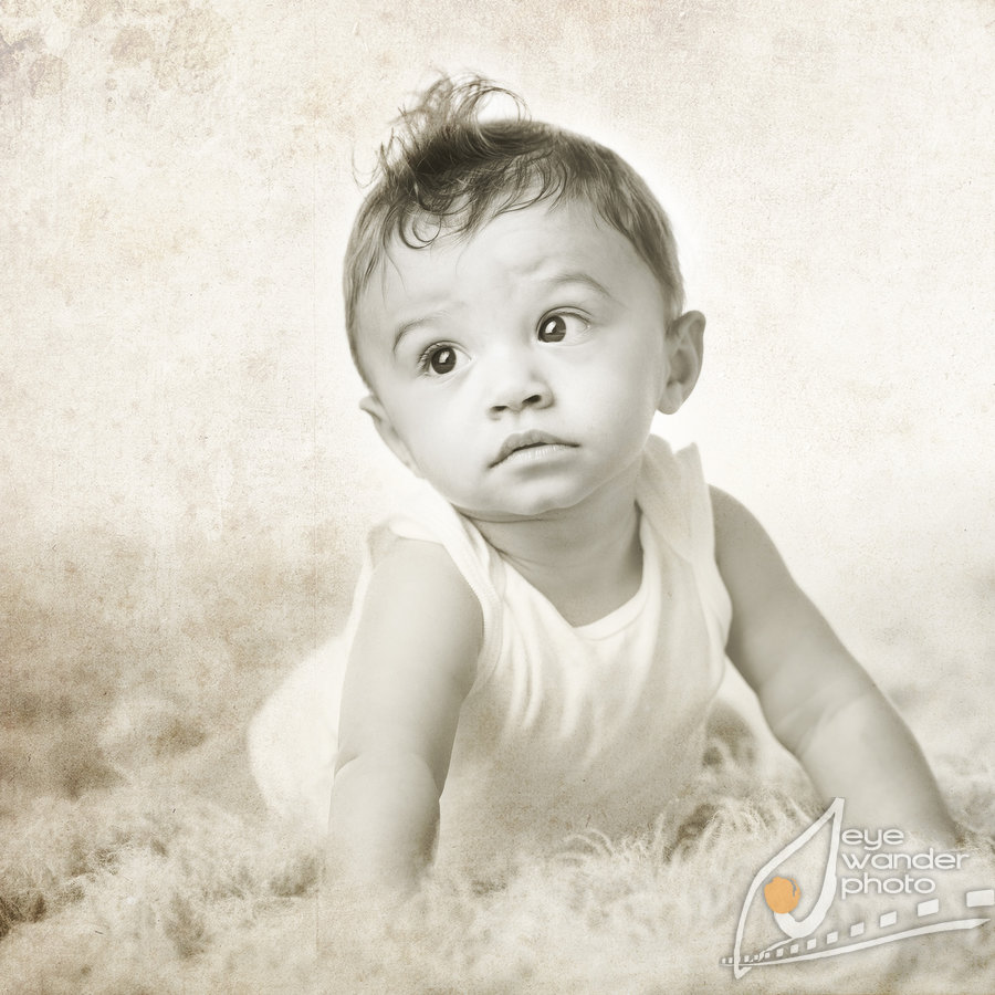 Malcolm 097 Baton Rouge Baby Photography { Studio } 6 months old