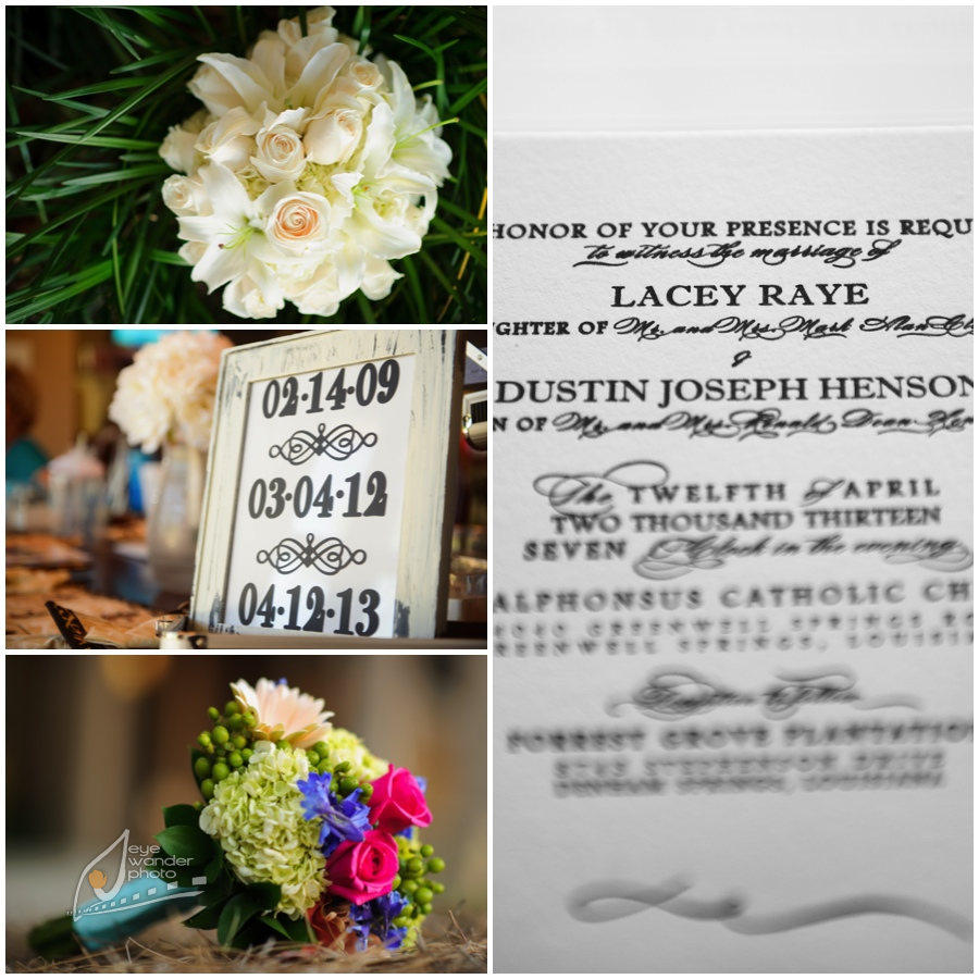 diptic6 Baton Rouge Wedding Photography { Forrest Grove Plantation } Lacey and Dustin 4.12.2013