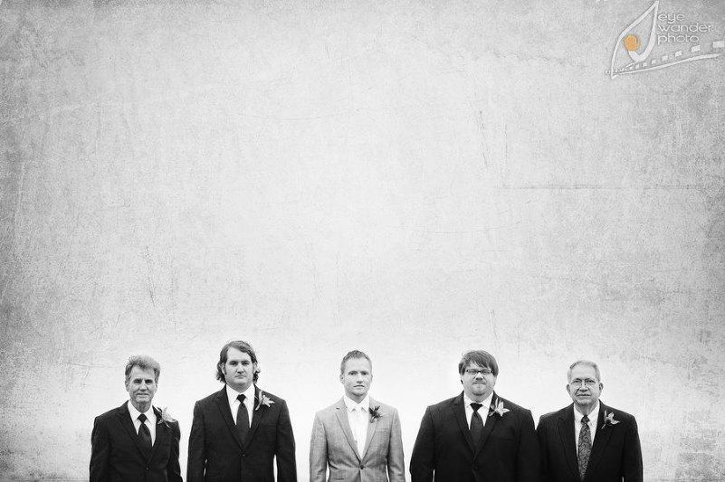 Mandeville Wedding Suit Groom and Groomsmen