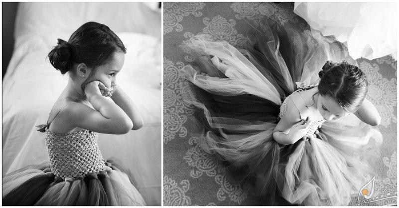 Kids At Weddings Flower Girl Tutu